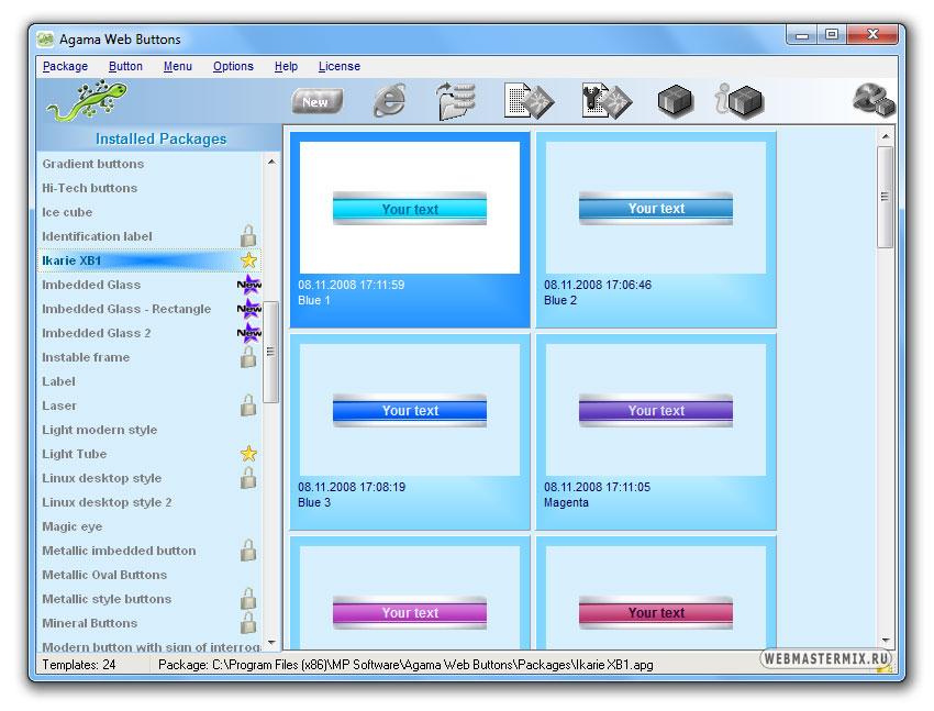 Программы для создания шаблонов сайта профессионально