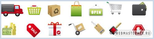 Разные иконки для интернет магазина