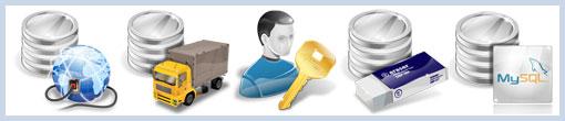 Иконки на тему баз данных