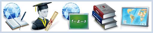 Иконки образовательной тематики