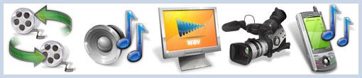 Иконки мультимедийной тематики