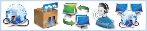 Иконки по тематике сеть