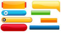 Бесплатные кнопки для сайта в стиле Web 2.0 – коллекция из 128 штук