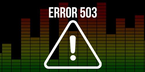 Ошибка 503 и способы ее устранения