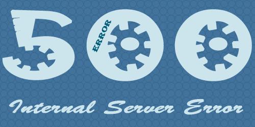 500 (Internal Server Error) - внутренняя ошибка сервера