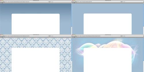 4 подхода к созданию фона HTML страницы - примеры кода и скриншоты