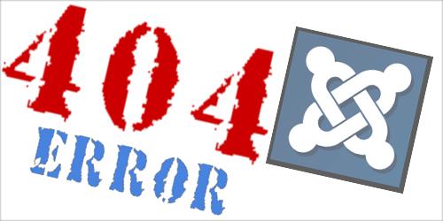 Собственная страница ошибки 404 в Joomla 2.5 - 3.0 - 1.5 - меняем содержание и внешний вид страницы
