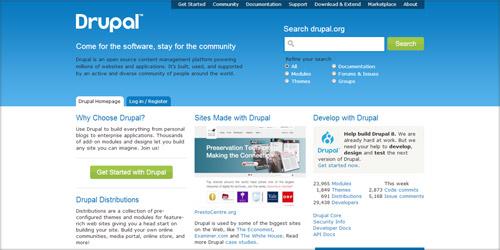 Особенности CMS Drupal