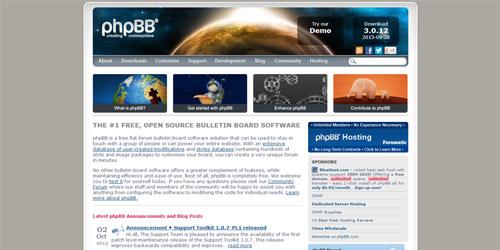 Движок для форума phpBB