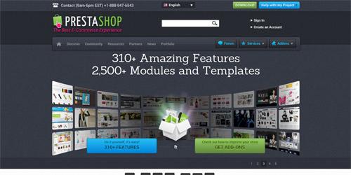 CMS для интернет магазина Prestashop