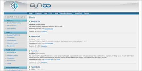 Форумный движок PunBB