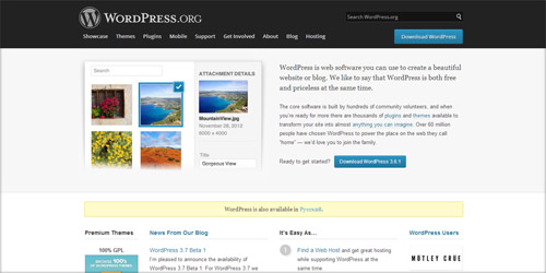 Обзор CMS WordPress