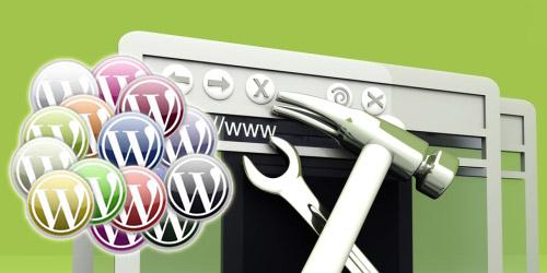Добавление блока виджетов в тему WordPress